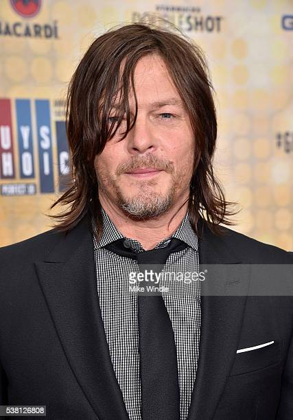 Actor Norman Reedus attends Spike TV's 10th Annual Guys Choice Awards at Sony Pictures Studios on June 4 2016 in Culver City California