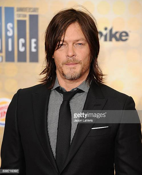 Actor Norman Reedus attends Spike TV's Guys Choice 2016 at Sony Pictures Studios on June 4 2016 in Culver City California