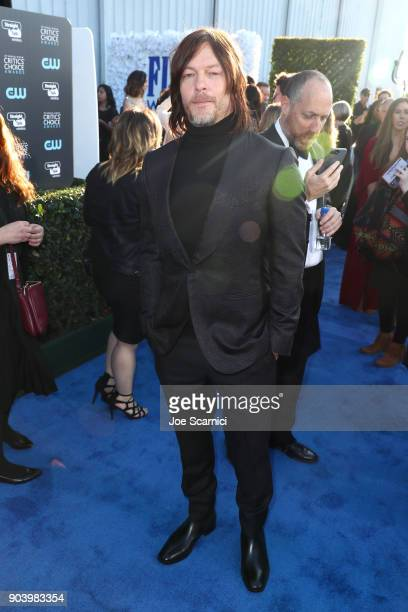 Actor Norman Reedus attends the 23rd Annual Critics' Choice Awards on January 11 2018 in Santa Monica California
