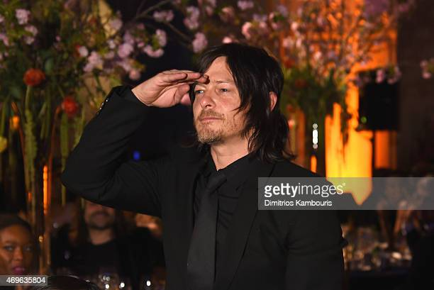 Actor Norman Reedus attends the 7th Annual Blossom Ball benefiting The Endometriosis Foundation Of America hosted by EFA Founders Padma Lakshmi and...