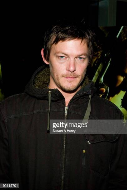 Actor Norman Reedus attends 'The Boondock Saints II All Saints Day' New York premiere at the Regal Union Square on October 20 2009 in New York City