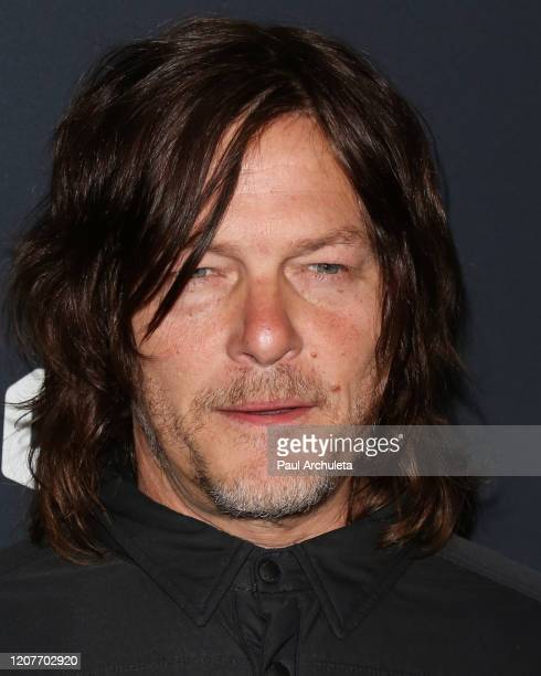 Actor Norman Reedus attends the Easyriders 50th Anniversary celebration at The House of Machines on February 20 2020 in Los Angeles California