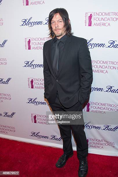 Actor Norman Reedus attends the Endometriosis Foundation of America's 7th Annual Blossom Ball at Cipriani Downtown on April 13 2015 in New York City