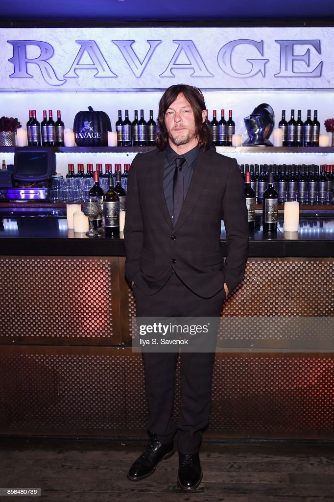 Actor Norman Reedus attends the Ravage Wines Lounge at Comic Con Heroes After Dark on October 6, 2017 in New York City.