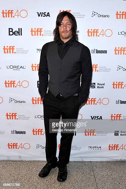 Actor Norman Reedus attends the 'Sky' photo call during the 2015 Toronto International Film Festival at The Elgin on September 16 2015 in Toronto...