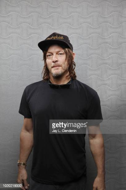 Actor Norman Reedus from 'The Walking Dead' is photographed for Los Angeles Times on July 21 2018 in San Diego California PUBLISHED IMAGE CREDIT MUST...