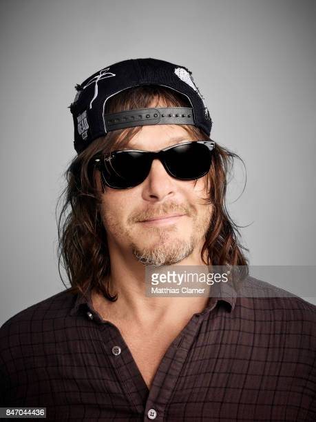 Actor Norman Reedus from 'The Walking Dead' is photographed for Entertainment Weekly Magazine on July 23 2016 at Comic Con in the Hard Rock Hotel in...