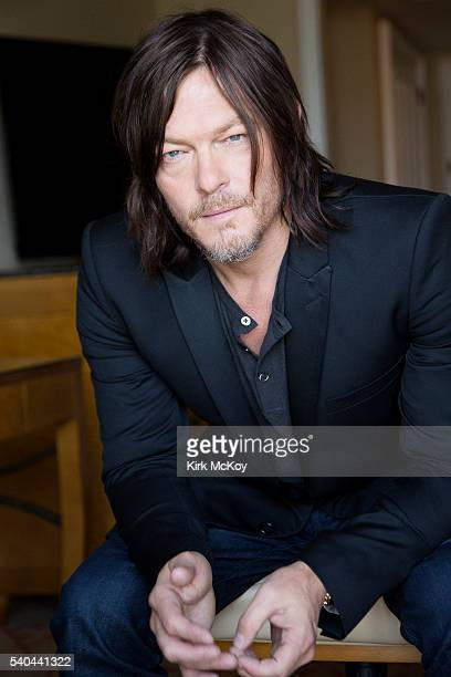 Actor Norman Reedus is photographed for Los Angeles Times on June 2 2016 in Los Angeles California PUBLISHED IMAGE CREDIT MUST READ Kirk McKoy/Los...