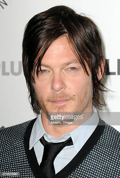 Actor Norman Reedus participates in The Paley Center For Media's PaleyFest 2013 Honoring 'The Walking Dead' held at The Saban Theater on March 1 2013...