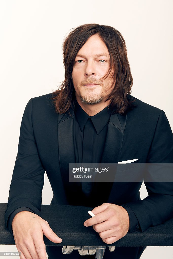 Actor Norman Reedus poses for a portrait during the 2016 Critics Choice Awards on December 11, 2016 in Santa Monica, California