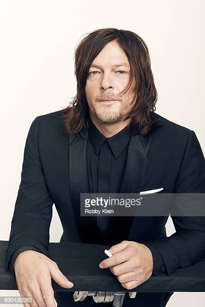 Actor Norman Reedus poses for a portrait during the 2016 Critics Choice Awards on December 11 2016 in Santa Monica California