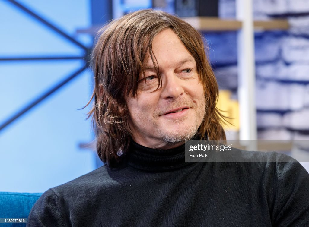 CA: Norman Reedus Visits The IMDb Show