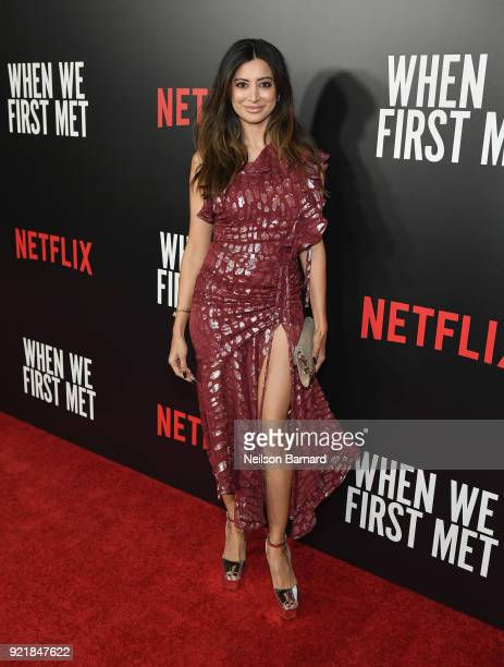 Actor Noureen DeWulf attends Special Screening Of Netflix Original Film' 'When We First Met' at ArcLight Theaters at ArcLight Hollywood on February...