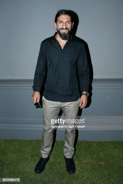 Actor Numan Acar attends the Dior Homme Menswear Spring/Summer 2018 show as part of Paris Fashion Week on June 24 2017 in Paris France