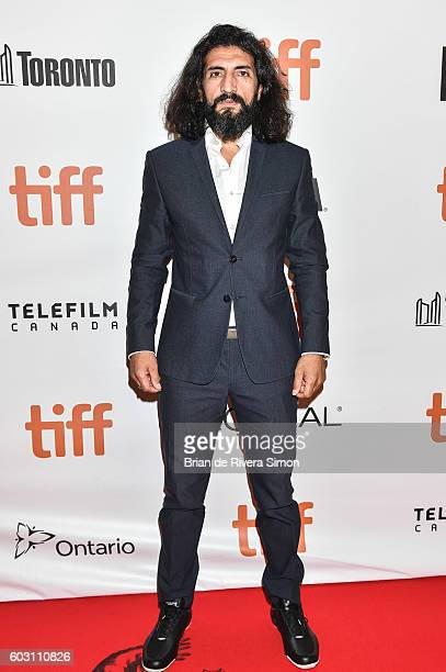 Actor Numan Ancar attends The Promise premiere during 2016 Toronto International Film Festival at Roy Thomson Hall on September 11 2016 in Toronto...