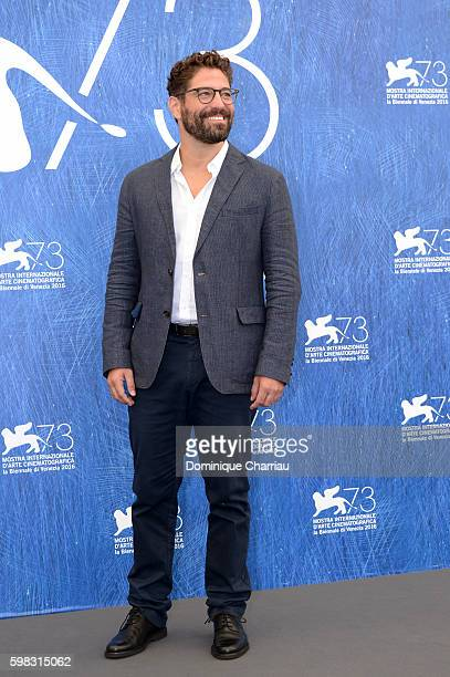 Actor Nuno Lopes attends a photocall for 'Saint George' during the 73rd Venice Film Festival at on September 1 2016 in Venice Italy