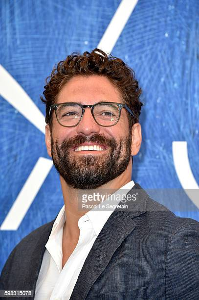 Actor Nuno Lopes attends a photocall for 'Saint George' during the 73rd Venice Film Festival at on September 1, 2016 in Venice, Italy.