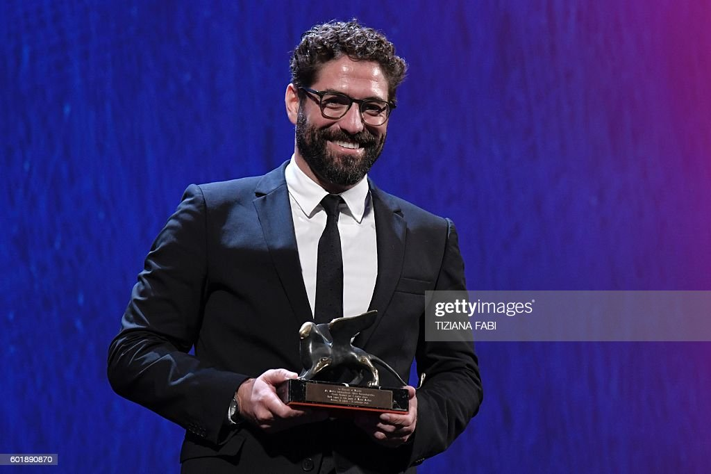 Actor Nuno Lopes Receives The Special Orizzonti Award For Best Actor In The Movie Sao