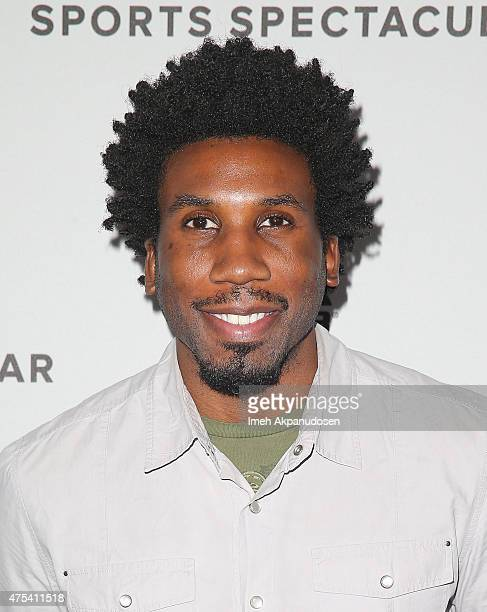 Actor Nyambi Nyambi attends the 'Celebrity Basketball Spectacular' To Benefit Sports Spectacular at Equinox Sports Club West LA on May 30 2015 in Los...