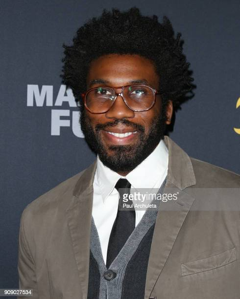 Actor Nyambi Nyambi attends the premiere of Making Fun The Story Of Funko at TCL Chinese 6 Theatres on January 22 2018 in Hollywood California