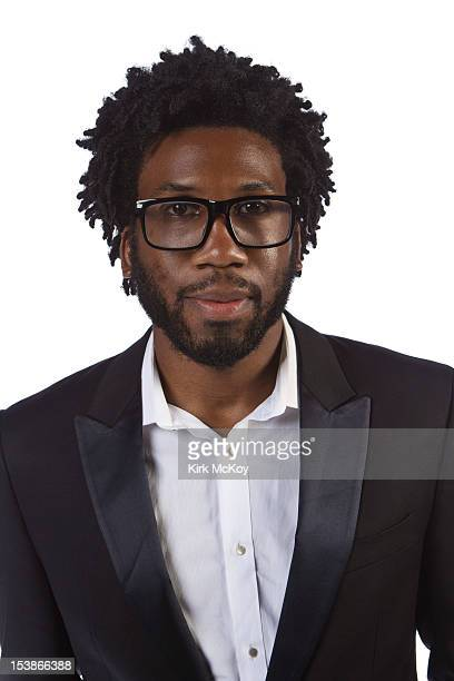 Actor Nyambi Nyambi is photographed for Los Angeles Times on September 22 2012 in Los Angeles California PUBLISHED IMAGE CREDIT MUST BE Kirk...