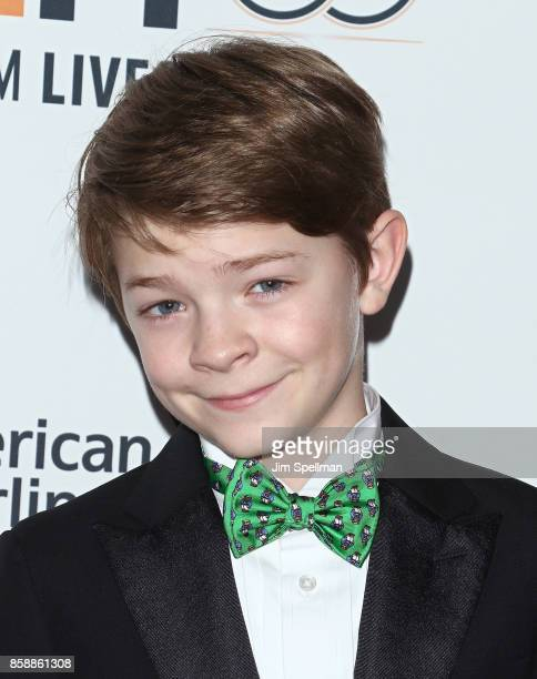 Actor Oakes Fegley attends the 55th New York Film Festival Wonderstruck premiere at Alice Tully Hall on October 7 2017 in New York City