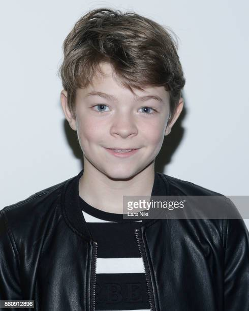 Actor Oakes Fegley attends The Academy of Motion Picture Arts Sciences Official Academy Screening of Wonderstruck at MOMA on October 11 2017 in New...
