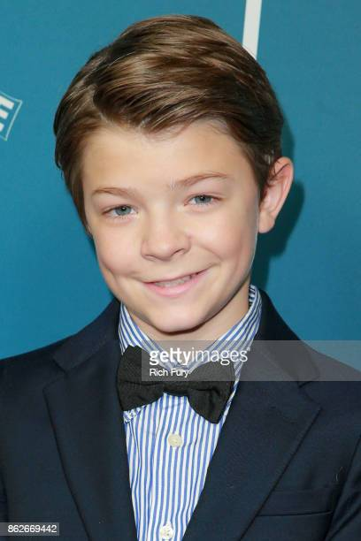 Actor Oakes Fegley attends the premiere of Roadside Attractions' Wonderstruck at the Los Angeles Theatre on October 17 2017 in Los Angeles California