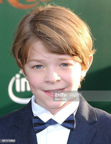 Actor Oakes Fegley attends the World Premiere of Disney's' 'Pete's Dragon' at the El Capitan Theatre on August 8 2016 in Hollywood California
