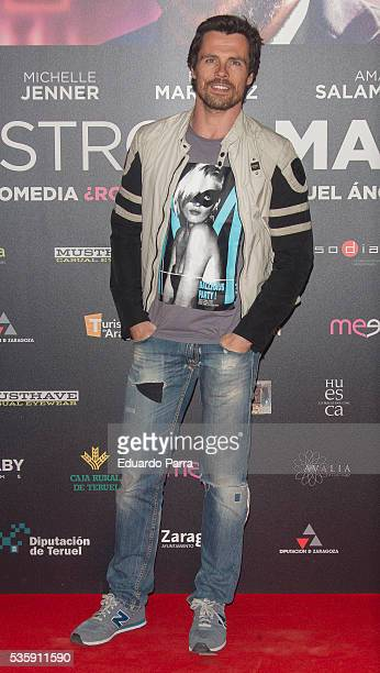 Actor Octavi Pujades attends the 'Nuestros amantes' premiere at Palafox cinema on May 30 2016 in Madrid Spain