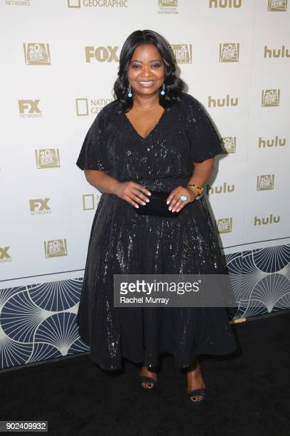 Actor Octavia Spencer attends Hulu's 2018 Golden Globes After Party at The Beverly Hilton Hotel on January 7 2018 in Beverly Hills California