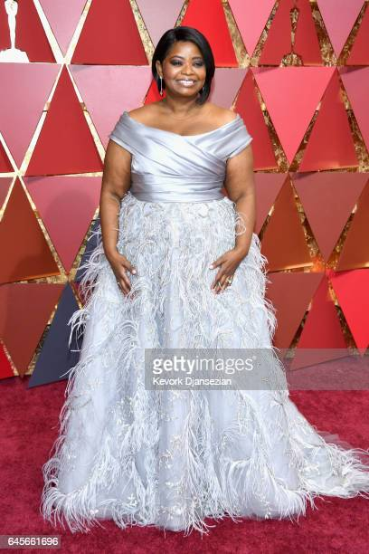Actor Octavia Spencer Attends The 89th Annual Academy Awards At Hollywood Highland Center On February 26