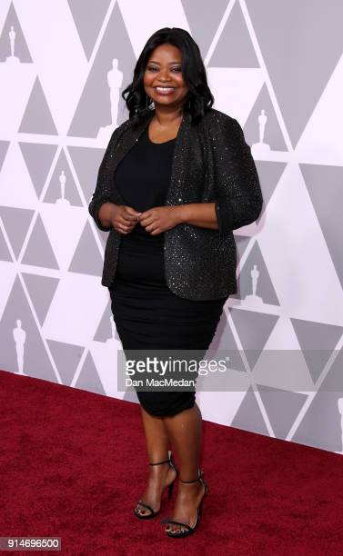Actor Octavia Spencer attends the 90th Annual Academy Awards Nominee Luncheon at The Beverly Hilton Hotel on February 5 2018 in Beverly Hills...