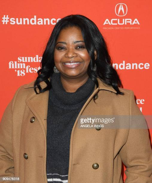 Actor Octavia Spencer attends the 'A Kid Like Jake' Premiere during the 2018 Sundance Film Festival at Eccles Center Theatre on January 23 2018 in...