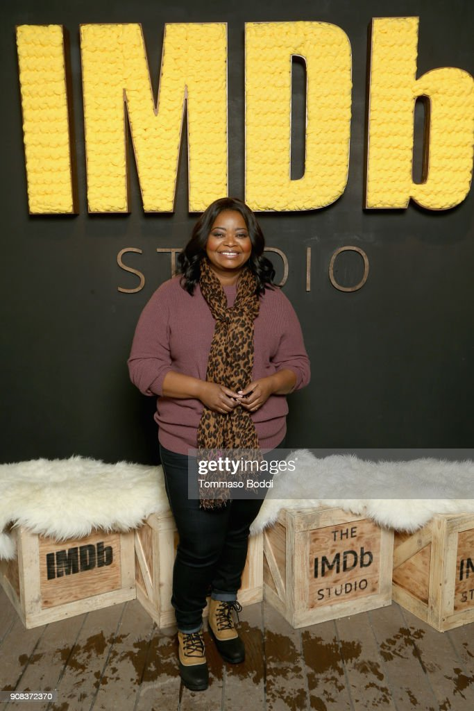 Actor Octavia Spencer of 'A Kid Like Jake' attends The IMDb Studio and The IMDb Show on Location at The Sundance Film Festival on January 21, 2018 in Park City, Utah.