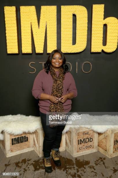 Actor Octavia Spencer of 'A Kid Like Jake' attends The IMDb Studio and The IMDb Show on Location at The Sundance Film Festival on January 21 2018 in...