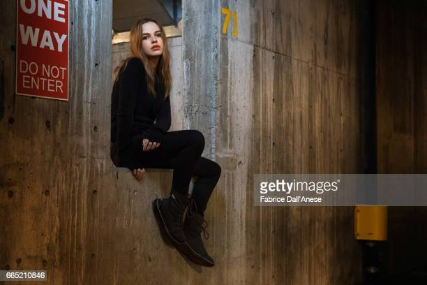 Actor Odessa Young is photographed for Rolling Stone at the Sundance film festival on January 23 2017 in Park City Utah