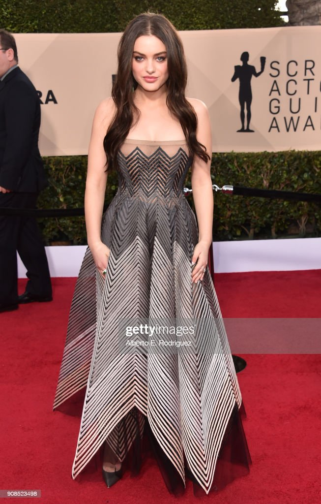 Actor Odeya Rush attends the 24th Annual Screen Actors Guild Awards at The Shrine Auditorium on January 21, 2018 in Los Angeles, California. 27522_006