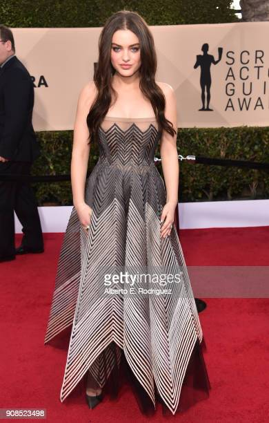 Actor Odeya Rush attends the 24th Annual Screen Actors Guild Awards at The Shrine Auditorium on January 21 2018 in Los Angeles California 27522_006