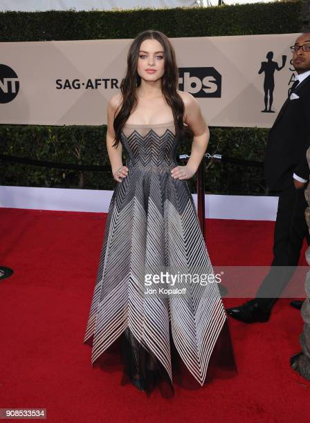 Actor Odeya Rush attends the 24th Annual Screen ActorsGuild Awards at The Shrine Auditorium on January 21 2018 in Los Angeles California