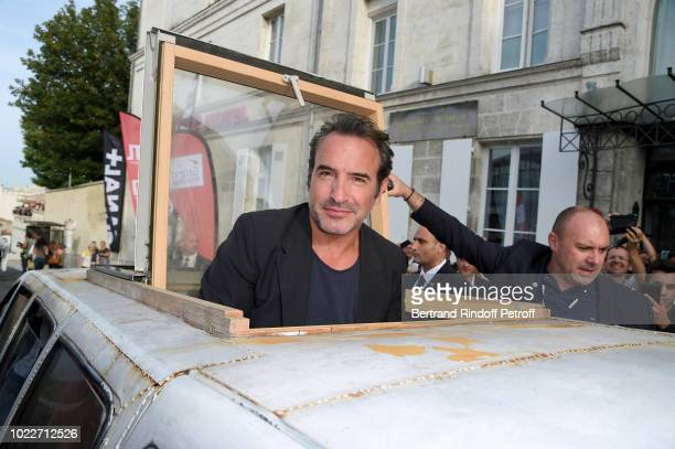 Actor of I feel good Jean Dujardin attend the 11th Angouleme FrenchSpeaking Film Festival Day Four on August 24 2018 in Angouleme France