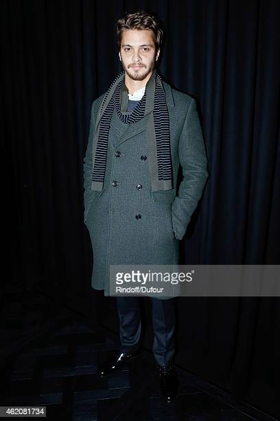 Actor of movie 'Fifty shades of grey' Luke Grimes attends the Dior Homme Menswear Fall/Winter 20152016 Show as part of Paris Fashion Week on January...