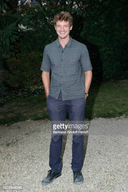 Actor of the film 'Un amour impossible' Niels Schneider attends the 11th Angouleme FrenchSpeaking Film Festival Day Six on August 26 2018 in...
