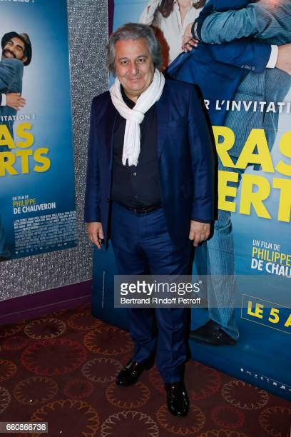 Actor of the movie Christian Clavier attends the 'A bras ouverts' Paris Premiere at Cinema Gaumont Opera on March 30 2017 in Paris France