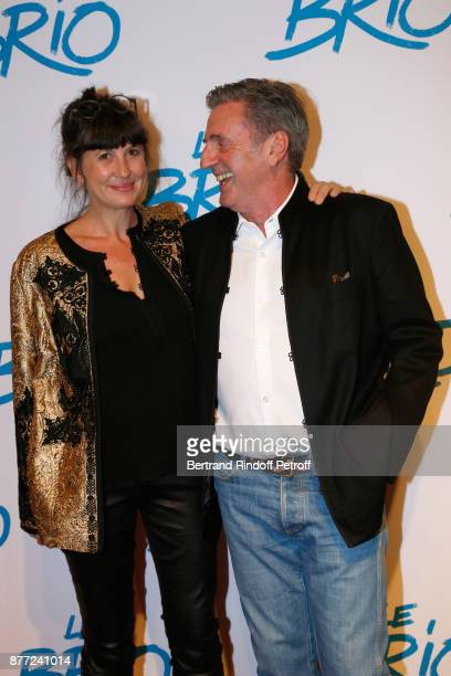 Actor of the movie Daniel Auteuil and his wife Aude attend the 'Le Brio' movie Premiere at Cinema Gaumont Opera Capucines on November 21 2017 in...