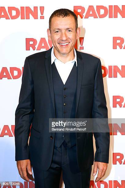 Actor of the movie Dany Boon attends the Radin Paris Premiere at Cinema Gaumont Opera on September 22 2016 in Paris France