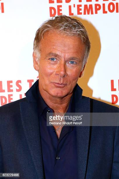 Actor of the movie Franck Dubosc attends 'Les Tetes de l''Emploi' Paris Premiere at Cinema Gaumont Opera Capucines on November 14 2016 in Paris France