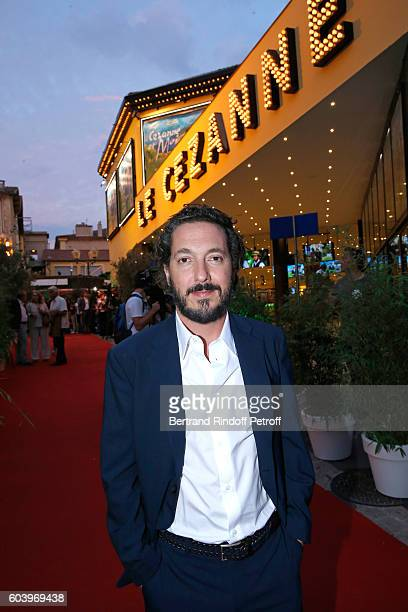 Actor of the movie Guillaume Gallienne attends the 'Cezanne et Moi' Premiere Held at the Cinema 'Le Cezanne' on September 12 2016 in AixenProvence...