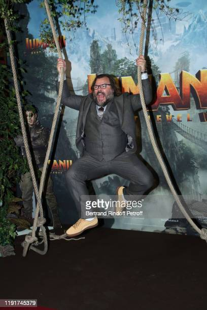 Actor of the movie Jack Black attends the photocall of the Jumanji Next Level film at le Grand Rex on December 03 2019 in Paris France