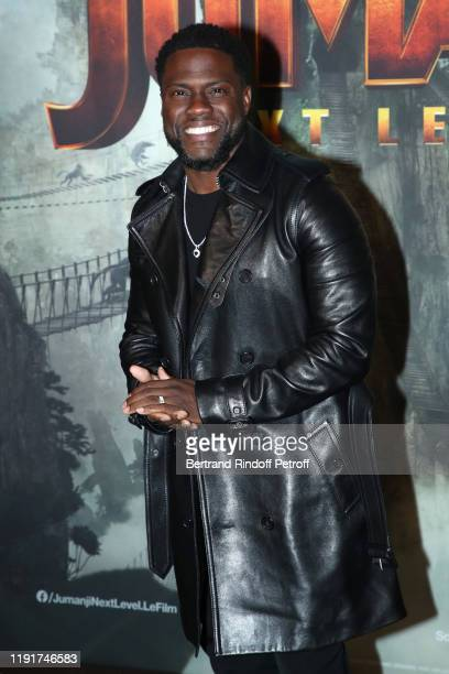 Actor of the movie Kevin Hart attends the photocall of the Jumanji Next Level film at le Grand Rex on December 03 2019 in Paris France